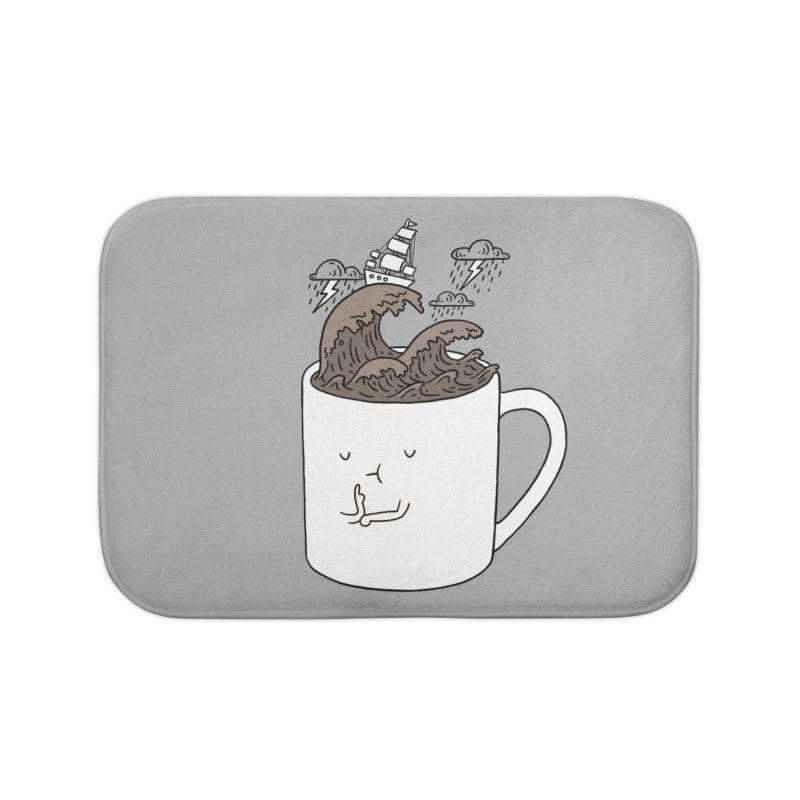 Brainstorming Coffee Mug Home Bath Mat by ilovedoodle's Artist Shop