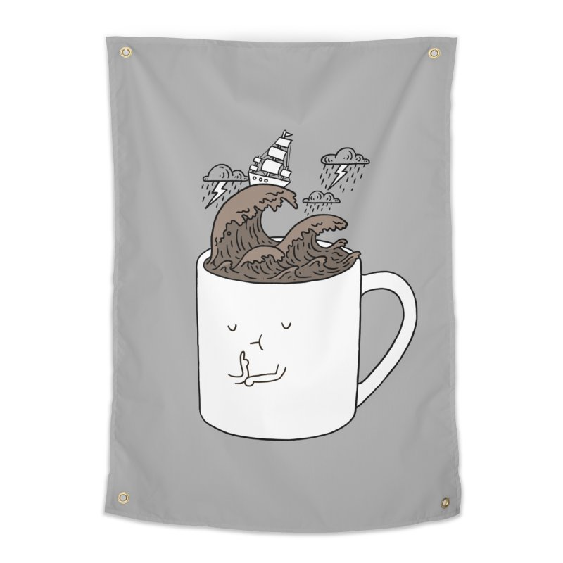 Brainstorming Coffee Mug Home Tapestry by ilovedoodle's Artist Shop
