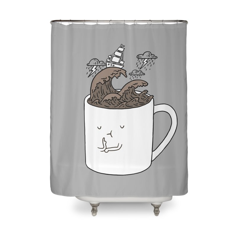 Brainstorming Coffee Mug Home Shower Curtain by ilovedoodle's Artist Shop