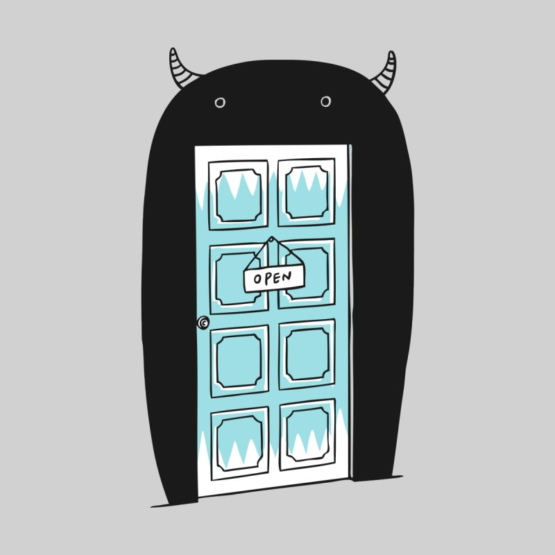 Monster Door by ilovedoodle's Artist Shop