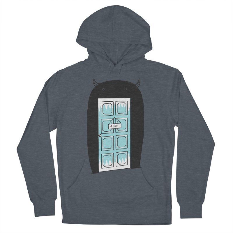 Monster Door Men's Pullover Hoody by ilovedoodle's Artist Shop