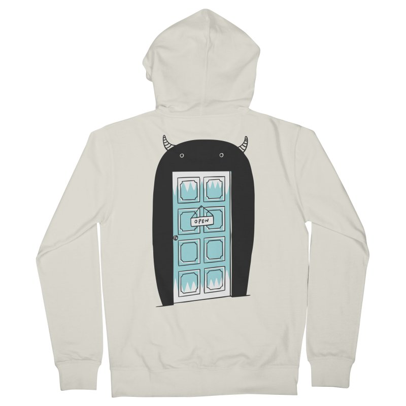 Monster Door Men's Zip-Up Hoody by ilovedoodle's Artist Shop