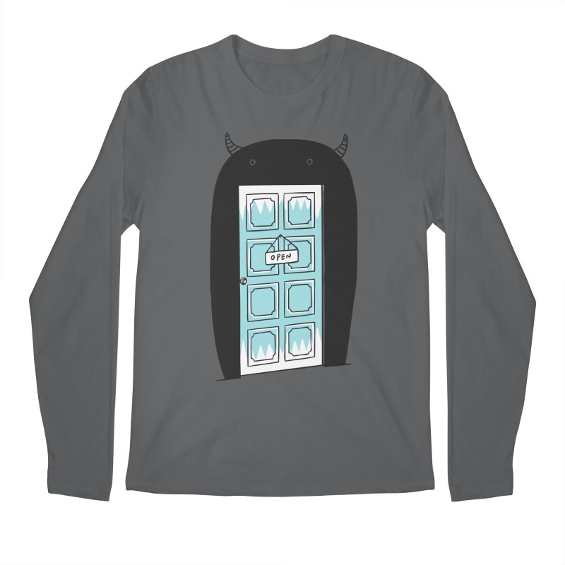 Monster Door Men's Longsleeve T-Shirt by ilovedoodle's Artist Shop