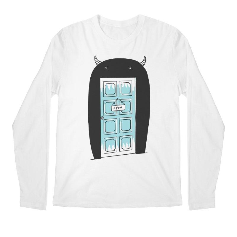 Monster Door Men's Longsleeve T-Shirt by ilovedoodle's Artist Shop