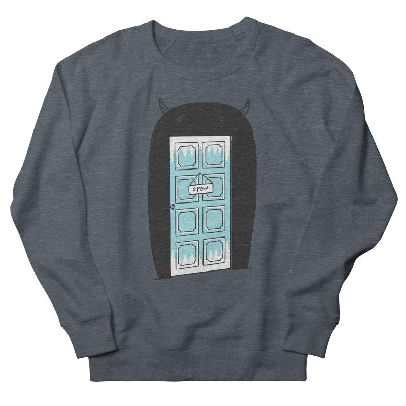 Monster Door Women's Sweatshirt by ilovedoodle's Artist Shop
