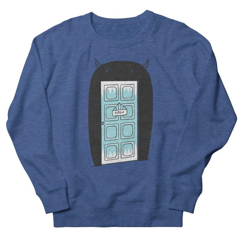Monster Door Men's Sweatshirt by ilovedoodle's Artist Shop