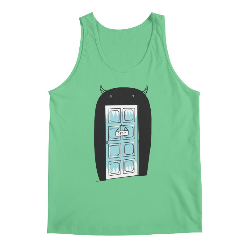 Monster Door Men's Tank by ilovedoodle's Artist Shop