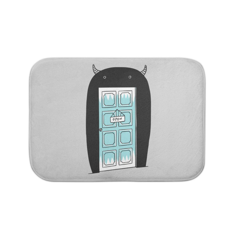 Monster Door Home Bath Mat by ilovedoodle's Artist Shop
