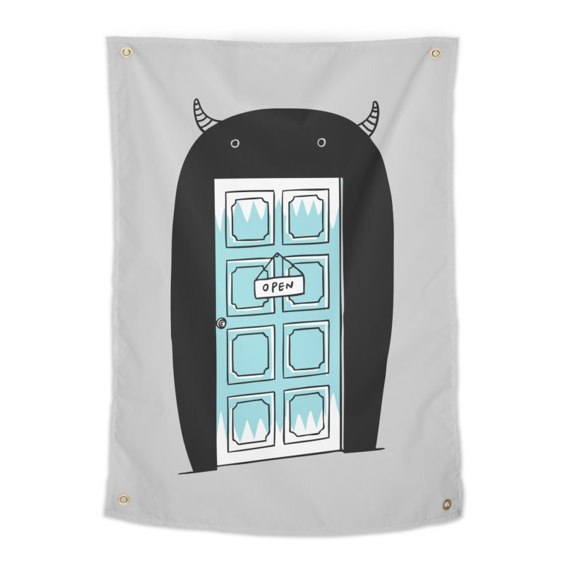 Monster Door Home Tapestry by ilovedoodle's Artist Shop