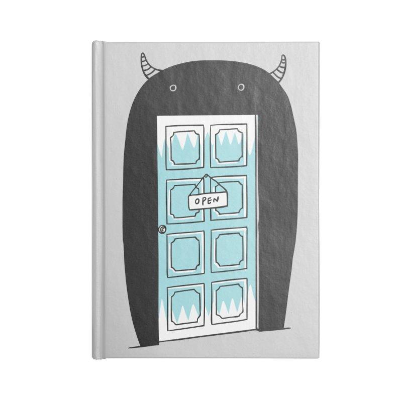 Monster Door Accessories Notebook by ilovedoodle's Artist Shop