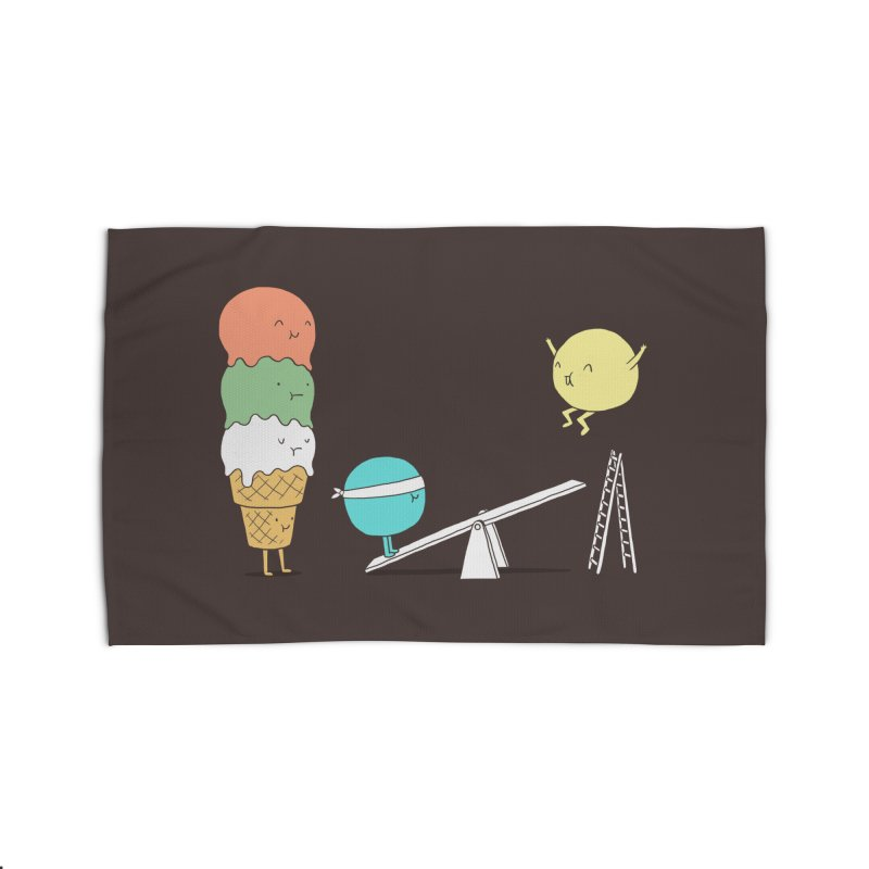 Acrobatic Ice Cream Home Rug by ilovedoodle's Artist Shop