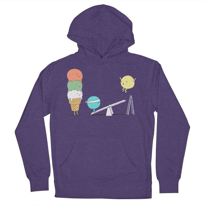 Acrobatic Ice Cream Men's Pullover Hoody by ilovedoodle's Artist Shop