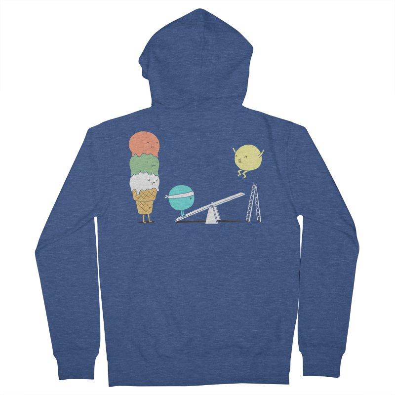 Acrobatic Ice Cream Women's Zip-Up Hoody by ilovedoodle's Artist Shop