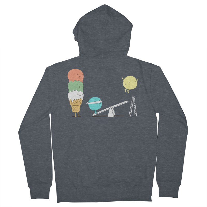 Acrobatic Ice Cream Men's Zip-Up Hoody by ilovedoodle's Artist Shop
