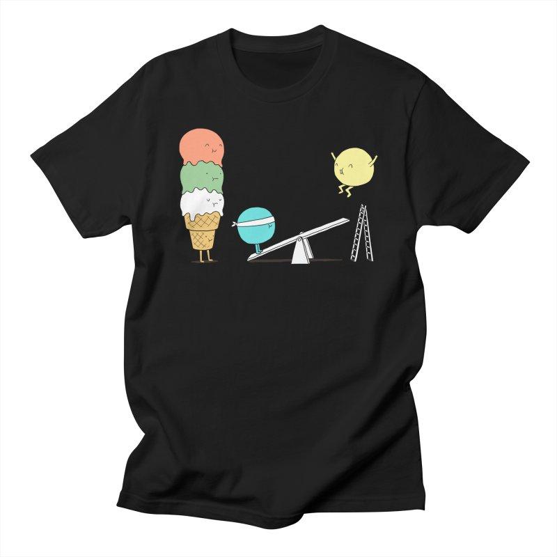 Acrobatic Ice Cream Women's Unisex T-Shirt by ilovedoodle's Artist Shop