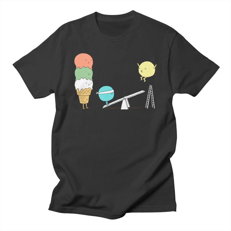 Acrobatic Ice Cream Men's T-shirt by ilovedoodle's Artist Shop