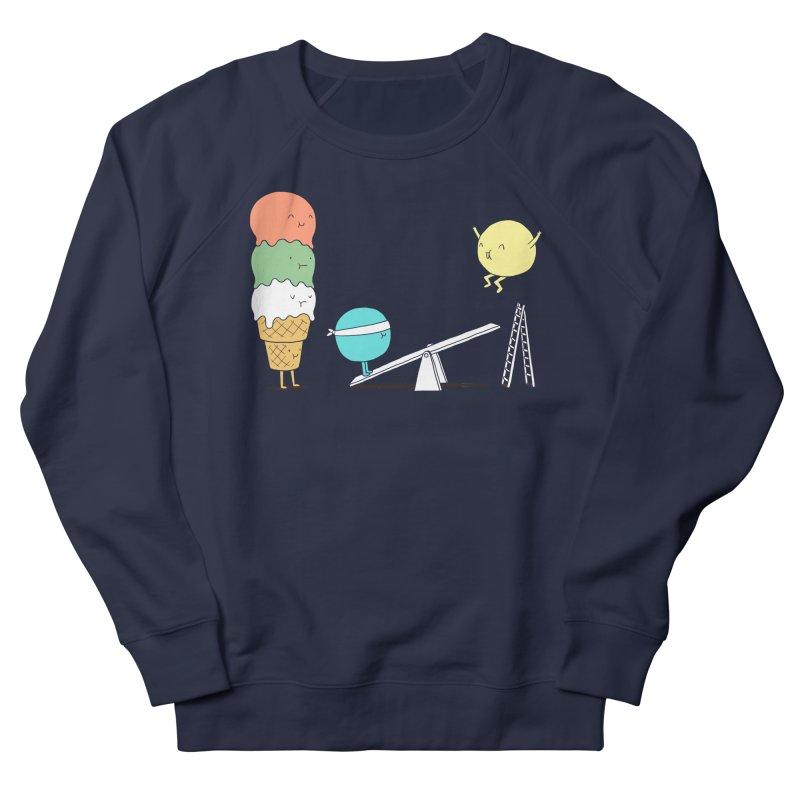 Acrobatic Ice Cream Men's Sweatshirt by ilovedoodle's Artist Shop