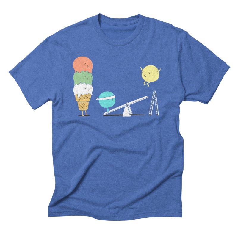 Acrobatic Ice Cream Men's Triblend T-shirt by ilovedoodle's Artist Shop