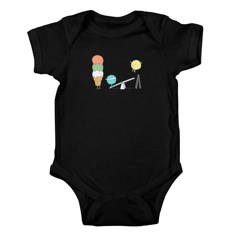 Acrobatic Ice Cream Kids Baby Bodysuit by ilovedoodle's Artist Shop