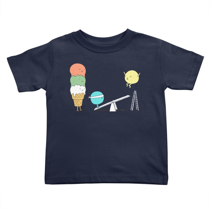 Acrobatic Ice Cream Kids Toddler T-Shirt by ilovedoodle's Artist Shop
