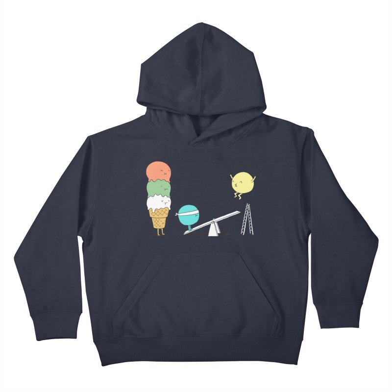 Acrobatic Ice Cream Kids Pullover Hoody by ilovedoodle's Artist Shop