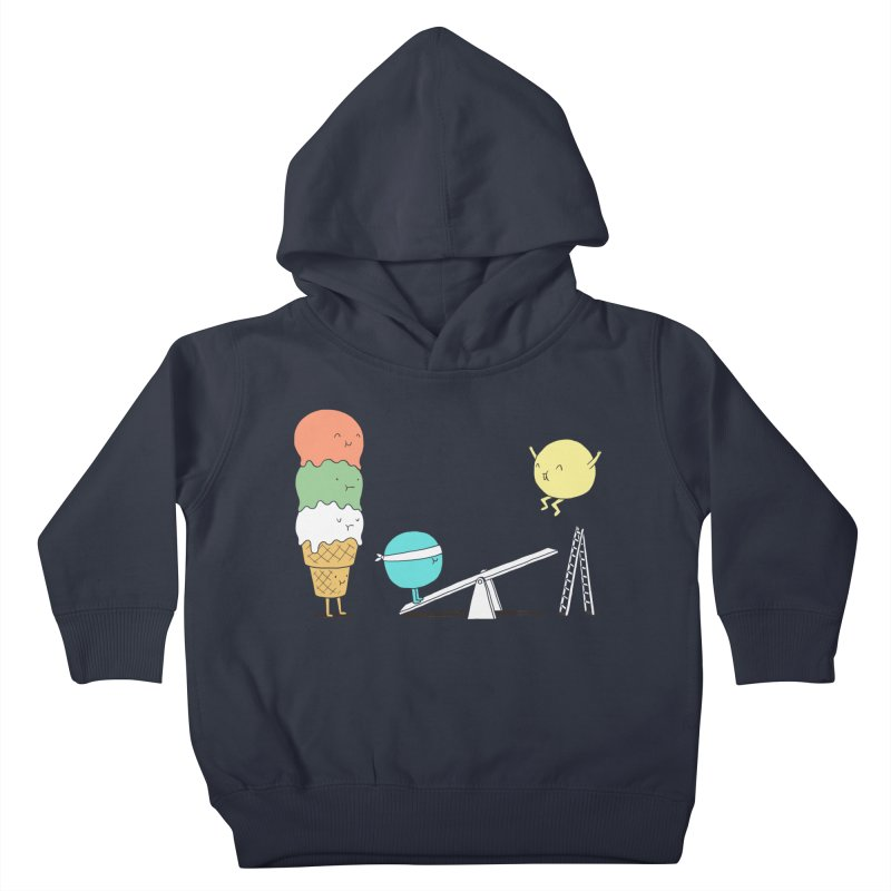 Acrobatic Ice Cream Kids Toddler Pullover Hoody by ilovedoodle's Artist Shop