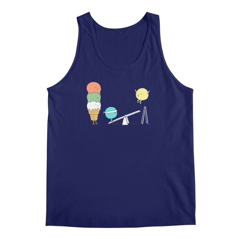 Acrobatic Ice Cream Men's Tank by ilovedoodle's Artist Shop