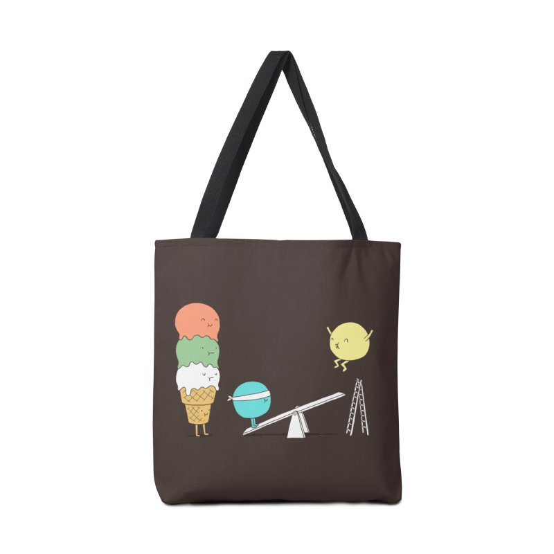 Acrobatic Ice Cream Accessories Bag by ilovedoodle's Artist Shop