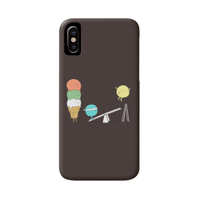 Acrobatic Ice Cream Accessories Phone Case by ilovedoodle's Artist Shop