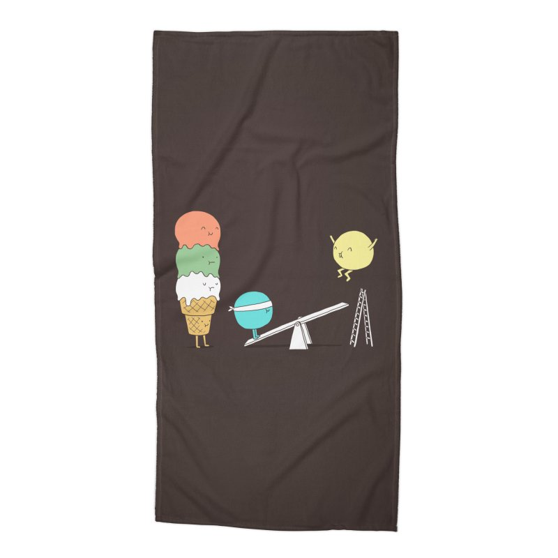 Acrobatic Ice Cream Accessories Beach Towel by ilovedoodle's Artist Shop