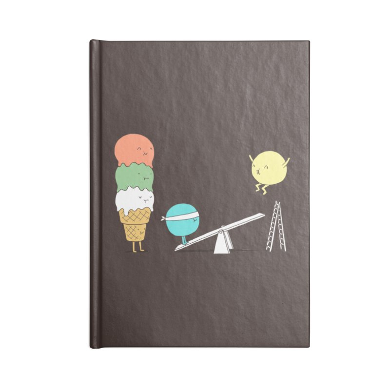 Acrobatic Ice Cream Accessories Notebook by ilovedoodle's Artist Shop