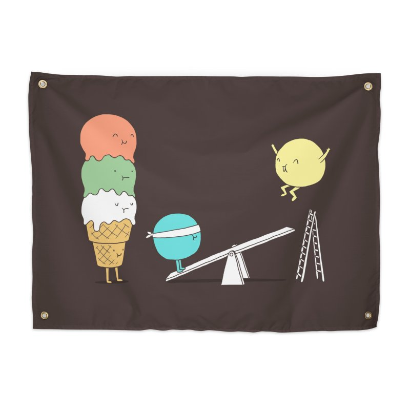 Acrobatic Ice Cream Home Tapestry by ilovedoodle's Artist Shop