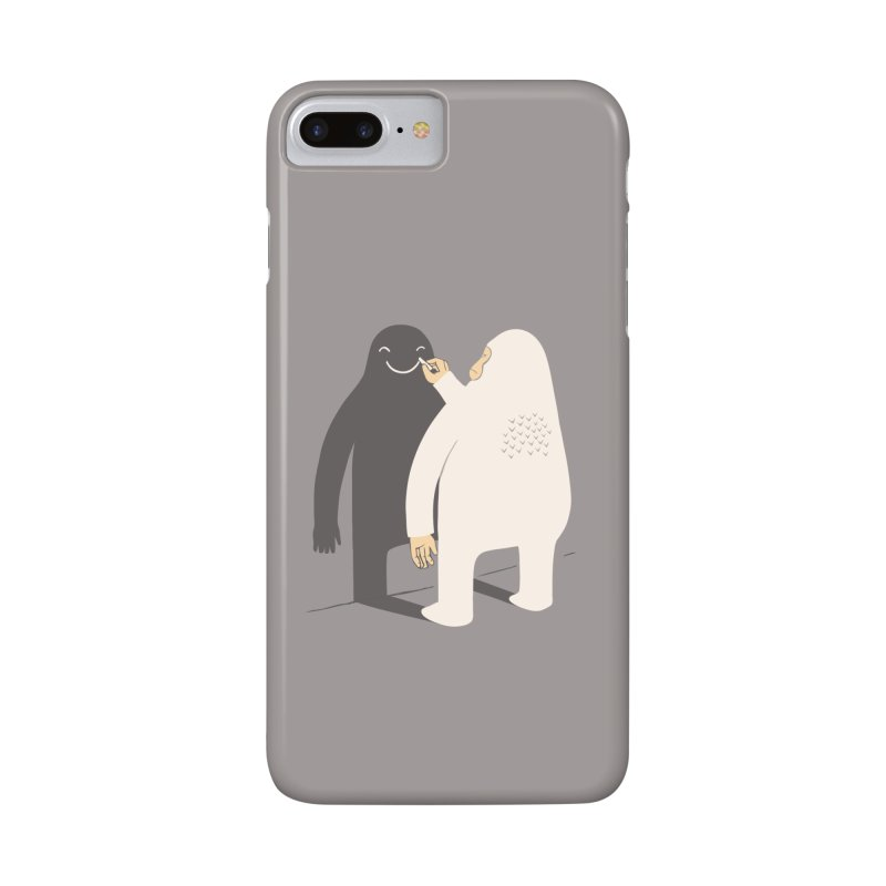 Smile My Shadow Accessories Phone Case by ilovedoodle's Artist Shop