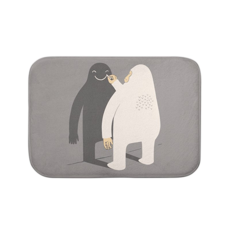 Smile My Shadow Home Bath Mat by ilovedoodle's Artist Shop