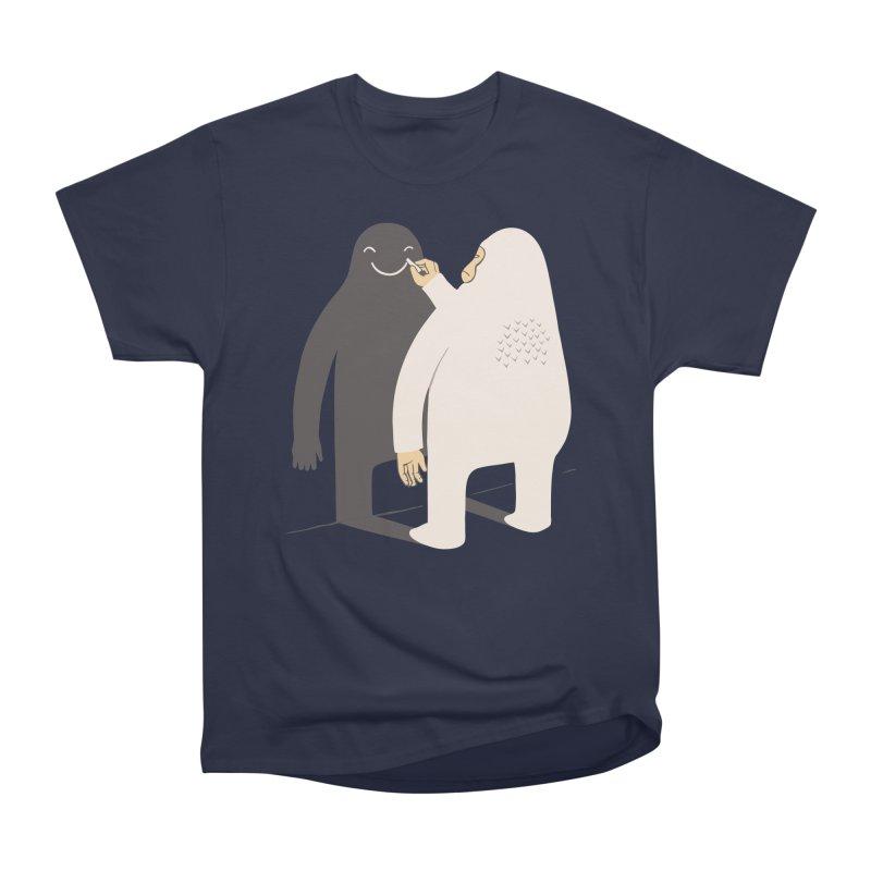 Smile My Shadow Men's Classic T-Shirt by ilovedoodle's Artist Shop