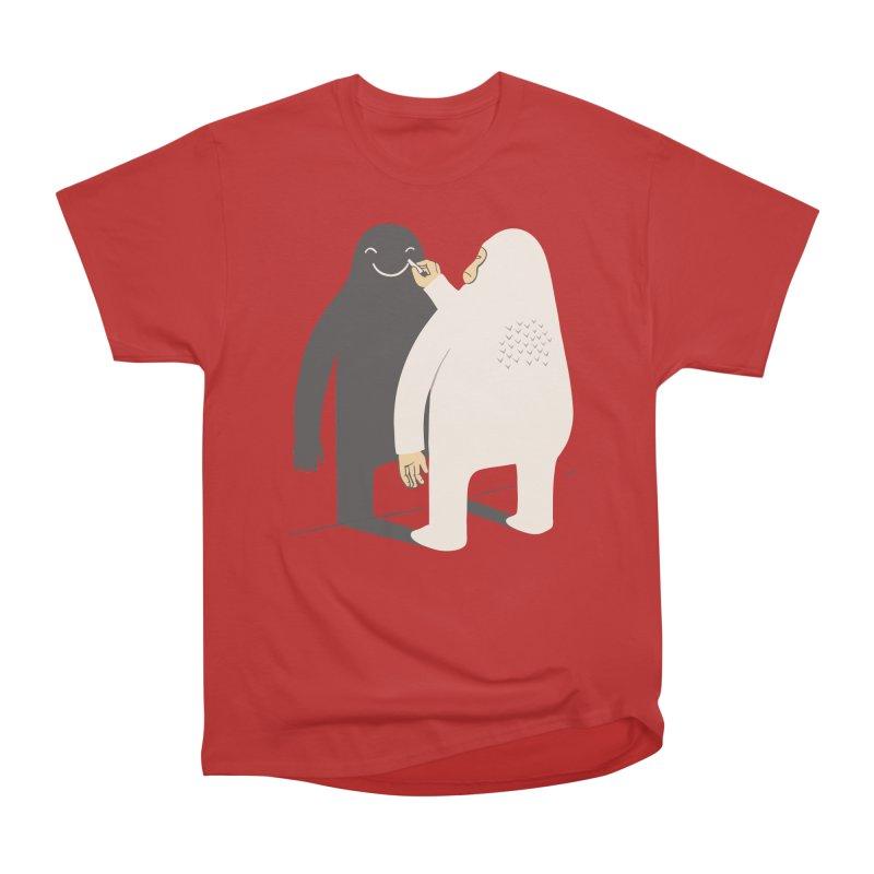 Smile My Shadow Women's Classic Unisex T-Shirt by ilovedoodle's Artist Shop