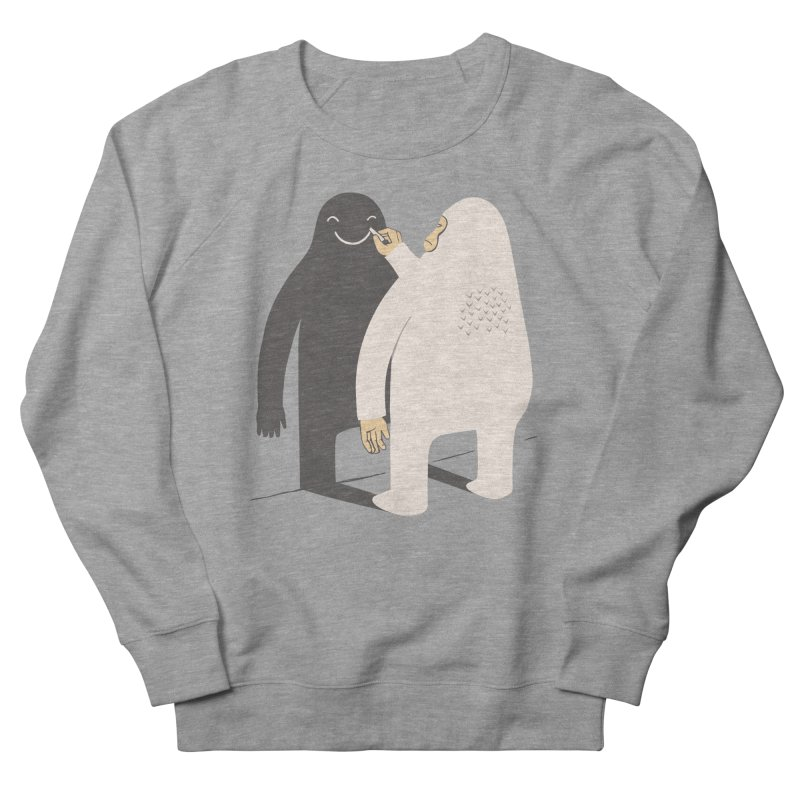 Smile My Shadow Women's Sweatshirt by ilovedoodle's Artist Shop