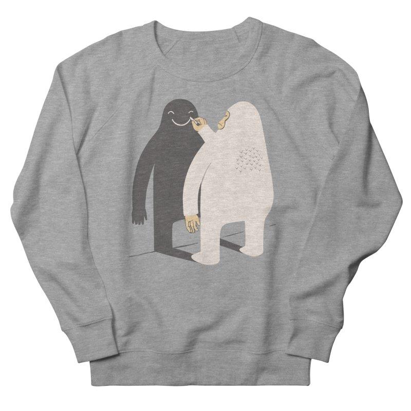 Smile My Shadow Men's Sweatshirt by ilovedoodle's Artist Shop