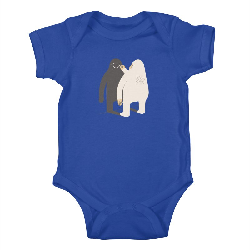 Smile My Shadow Kids Baby Bodysuit by ilovedoodle's Artist Shop