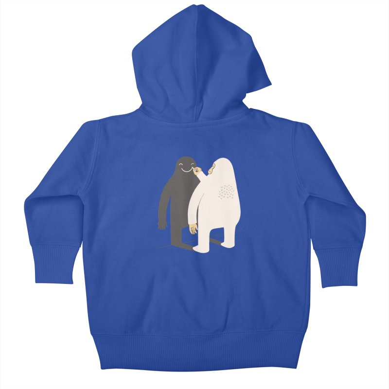 Smile My Shadow Kids Baby Zip-Up Hoody by ilovedoodle's Artist Shop