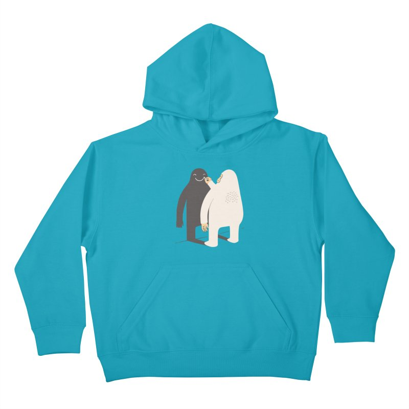 Smile My Shadow Kids Pullover Hoody by ilovedoodle's Artist Shop