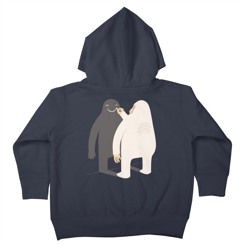 Smile My Shadow Kids Toddler Zip-Up Hoody by ilovedoodle's Artist Shop