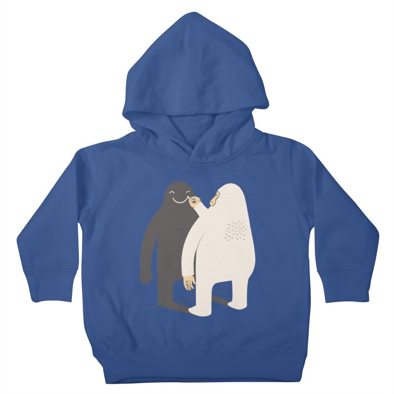 Smile My Shadow Kids Toddler Pullover Hoody by ilovedoodle's Artist Shop