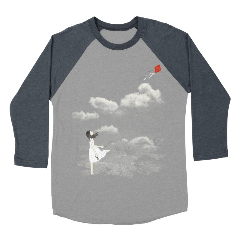 Let Go Men's Baseball Triblend T-Shirt by ilovedoodle's Artist Shop