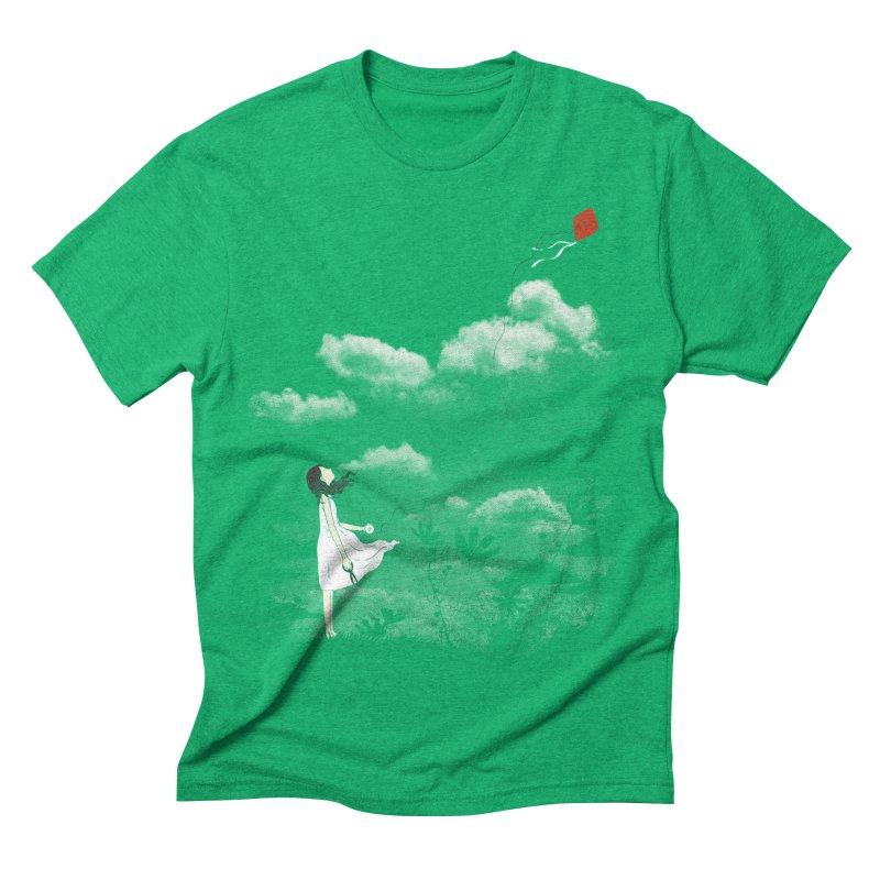 Let Go Men's Triblend T-shirt by ilovedoodle's Artist Shop