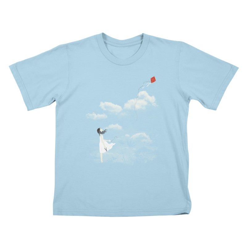 Let Go Kids T-shirt by ilovedoodle's Artist Shop