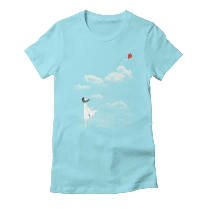 Let Go Women's Fitted T-Shirt by ilovedoodle's Artist Shop