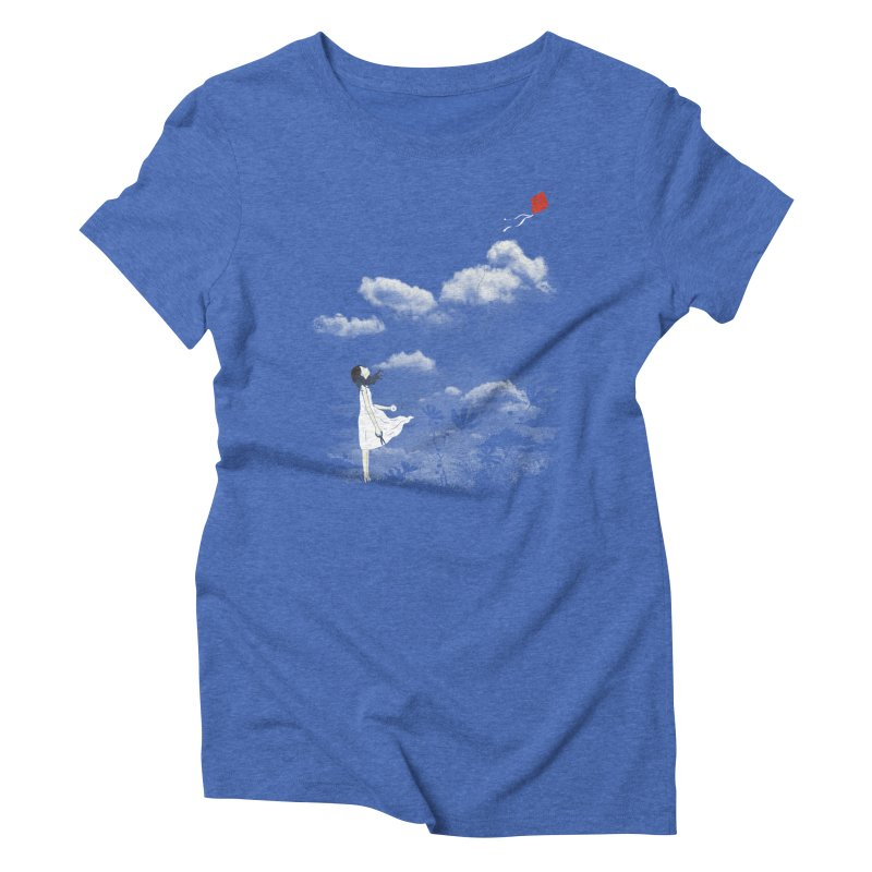 Let Go Women's Triblend T-shirt by ilovedoodle's Artist Shop