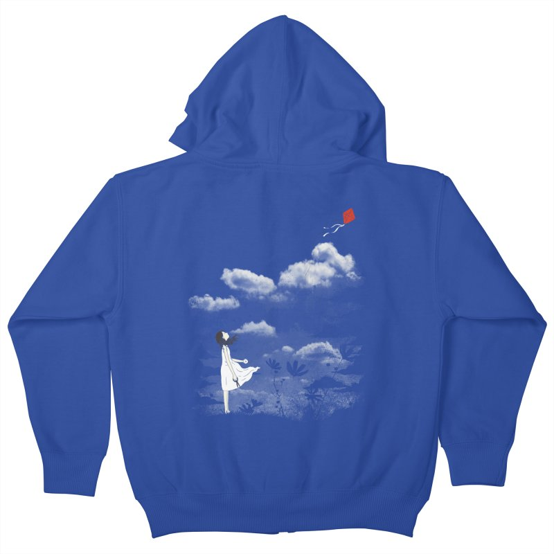 Let Go Kids Zip-Up Hoody by ilovedoodle's Artist Shop