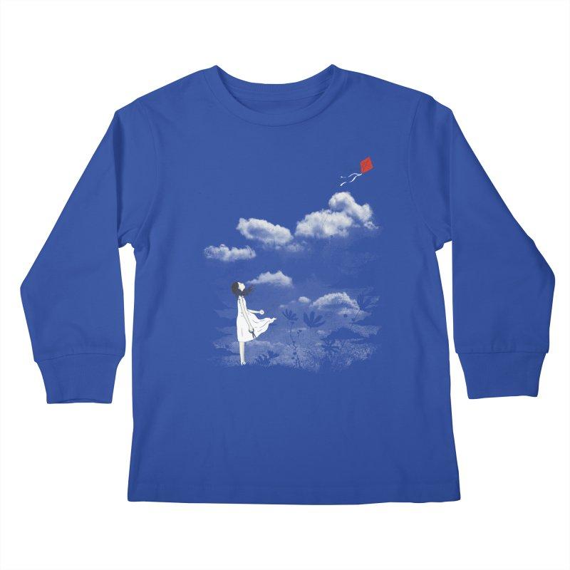 Let Go Kids Longsleeve T-Shirt by ilovedoodle's Artist Shop